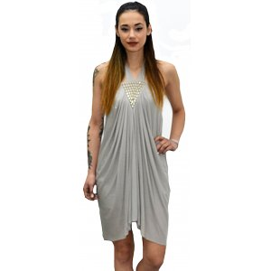 Grey Womens Dress(11.FAIW0092)