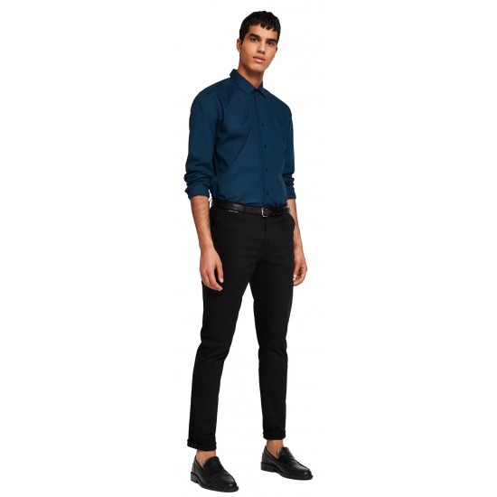 Slim Fit - Classic cotton-elastane Shirt (148876.5)