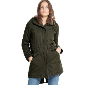 Amy Long Fur Parka (15156497)
