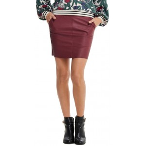 Base Faux Leather Skirt (15164809.CT)