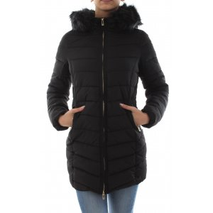 Quilted Hood Fur Coat (15183994.090)