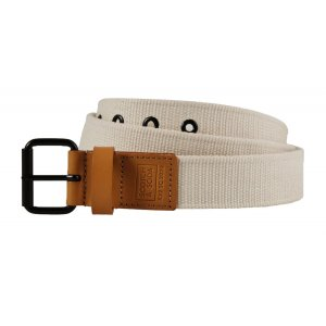 Leather Trimmed Canvas Belt (155564.217)