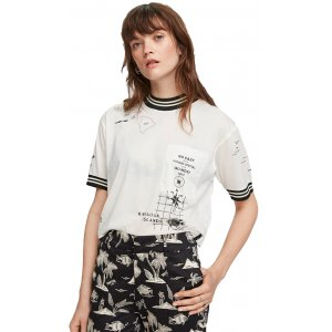 Cropped Short Sleeve Tee (156190.601)