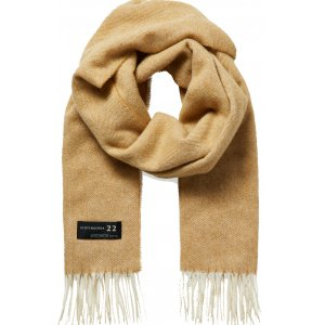 Classic Fringed Woven Wool Scarf (158667.0619)