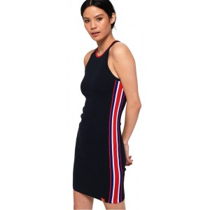 D3 Sporty Tape  Ribbed Dress (SD0APG61114PT0000000.98T)