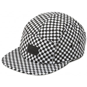 Davis 5 Panel Black-White Cap (V00UM2HU0)