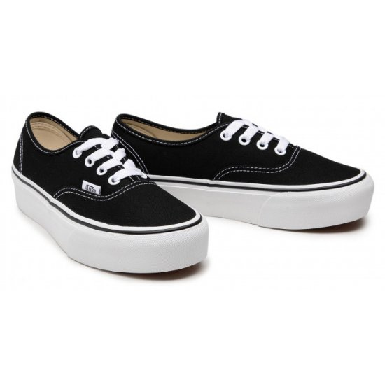 UA Authentic Platform (VN0A3AV8BLK1)